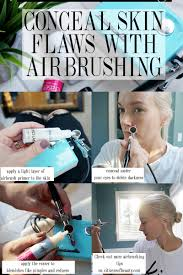 conceal skin flaws with luminess air airbrush makeup citizens of