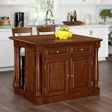 kitchen island oak home styles monarch 3 granite top kitchen island stool set