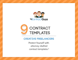 freelance contract template attorney contract templates