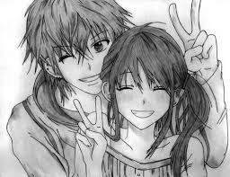 best 25 anime couples drawings ideas on pinterest cute sketches