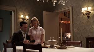 image betty don dinner table ladies room jpg mad men wiki