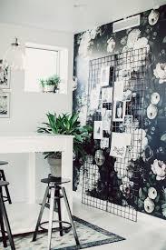 atelier rue verte le usa un bureau au papier peint floral