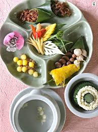 cha e cuisine khao chae at celadon gourmet