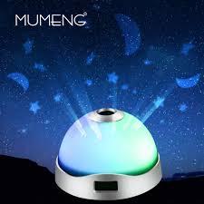 Schlafzimmer Beleuchtung Sternenhimmel Mumeng Rgb Nachtlicht Sternenhimmel Projektionslampe Führte Baby