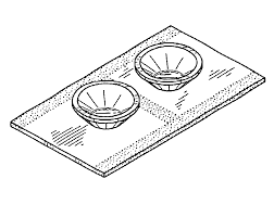 Shower Curtain Suction Cups Patent Usd489966 Shower Curtain Fastener With Suction Cups