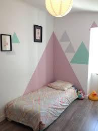 peinture mur de chambre comment habiller un angle dans une pia ce deco mur et chambres