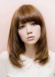 framed face hairstyles with bangs heavy layered hair google search long layers pinterest