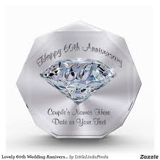 customized anniversary gifts best 25 60th anniversary gifts ideas on 60th