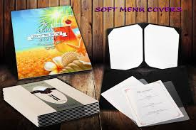 Restaurant Menu Covers Soft Menu Covers Restaurant Menus Menu Inserts Menu Covers