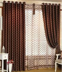 livingroom curtains brown curtains for living room design home ideas pictures