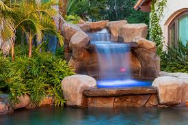 outdoor u0026 garden beautiful tropical pools with waterfall for