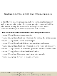 sample airline pilot cover letter pilot cover letter view more 1