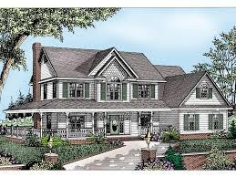 enjoyable inspiration ideas 5 2 story farm house plans eplans