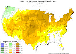 Oregon Climate Map by September Second Warmest Globally 2015 Headed For Record