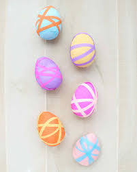 paper easter eggs crepe paper easter eggs martha stewart