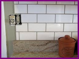 grout kitchen backsplash stunning white subway tile backsplash color grout tikspor picture of