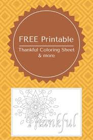 free printable thanksgiving coloring pages free printable