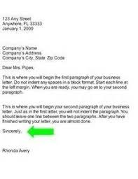 Business Letter Template Closing Closing Lines For Business Letters U2013 The Letter Sample For