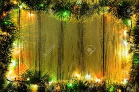new year theme tree decoration and garland with colored