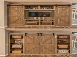 Make Sliding Barn Door by Barn Door Kit Diy Closet Barn Door Kit Diyhd 5ft8ft Two Side