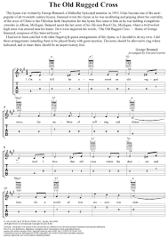 Old Rugged Cross The Old Rugged Cross Sheet Music Music For Piano And More