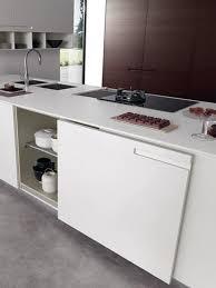 kitchen island trash bin storage cabinet hidden kitchen island