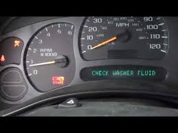 2004 Chevy Silverado Service Air Bag Message Troubleshoot Part 1