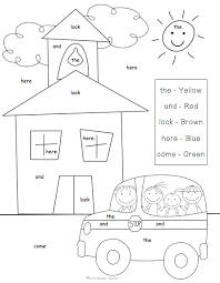 100 ideas back to coloring pages for first grade on