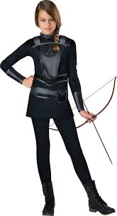 Black Cat Halloween Costume Kids Warrior Huntress Kids Costume Costumes Girls Halloween