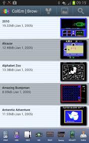 apk emulator colem free coleco emulator 4 2 4 apk android