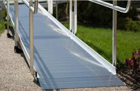 Wheel Chair Ramp Wheelchair Ramp Wood Vs Aluminum Which Is Best Caregiver
