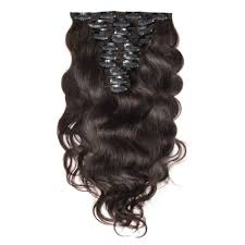 Los Angeles Hair Extensions by 120g 200g 10pcs Body Wavy Clip In Remy Hair Extensions 2 Darkest