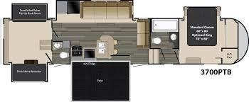 heartland 5th wheel floor plans 2017 heartland gateway 3700ptb fifth wheel prescott valley az
