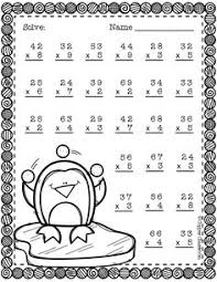 3 digit by 2 digit multiplication multiplication practice