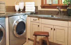 laundry in kitchen 27 ideas for a fully loaded laundry room this old house