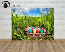 cheap easter eggs allenjoy background happy easter eggs grass basket field real