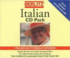 berlitz italian cd pack berlitz 9782831510958 books