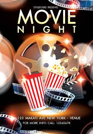 movie night flyer template screenshots 01 graphic river movie