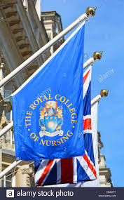 College Flag The Royal College Of Nursing Headquarters Building U0026 Flag With