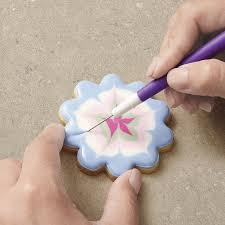 Decorating With Royal Icing I Taught Myself Cookie Decorating Book Set Wilton