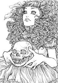 detailed tattoo coloring pages google