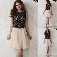 popular short a line floral bridesmaid dress buy cheap short a