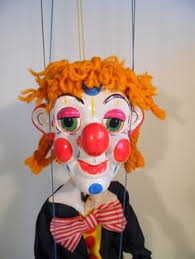 clown puppets for sale vintage pelham puppet sm2 witch with moving puppet and