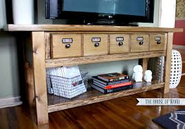 Apothecary Media Cabinet Diy Pottery Barn Tv Stand
