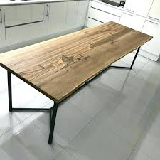 Dining Table Kit Dining Table Kit Industrial Style Dining Table Rustic Pipe Legs