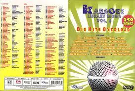 sing karaoke karaoke dvd library series volume 6 with 150 songs