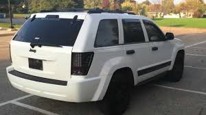 jeep cherokee white with black rims unmarked storm trooped and modded 2006 jeep grand cherokee youtube