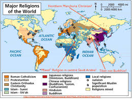 Map Of Southwest Asia And North Africa by Religion 2 5 Geocurrents