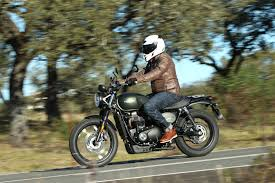 triumph motocross bike 2017 triumph street scrambler review better in every way