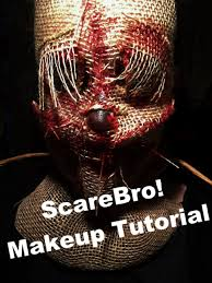 scarecrow halloween makeup scarecrow sfx makeup tutorial youtube
